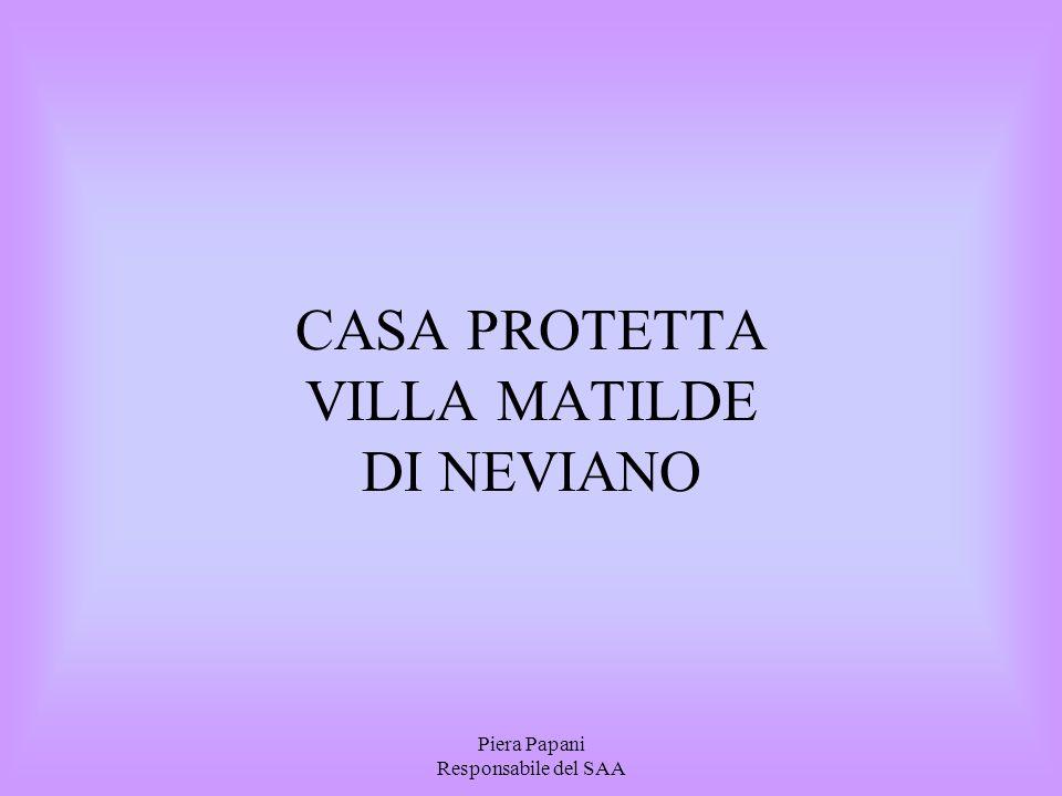 CASA PROTETTA VILLA MATILDE DI NEVIANO