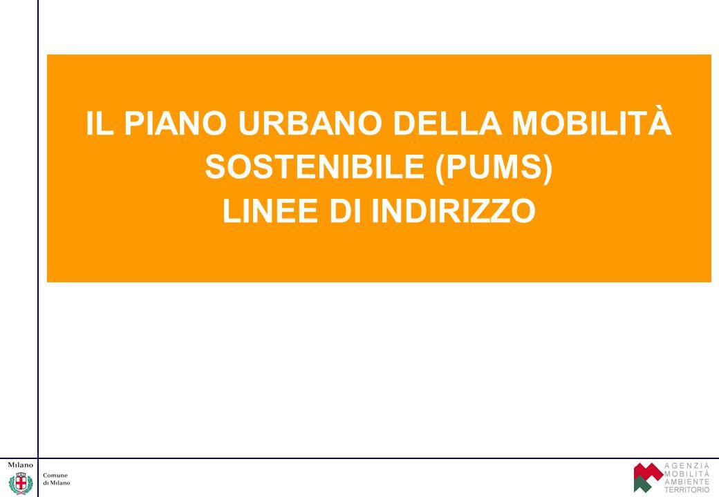 IL PIANO URBANO DELLA MOBILITÀ SOSTENIBILE (PUMS)