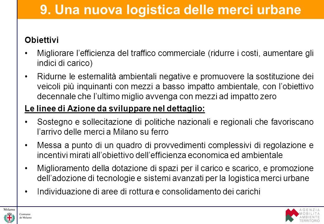9. Una nuova logistica delle merci urbane