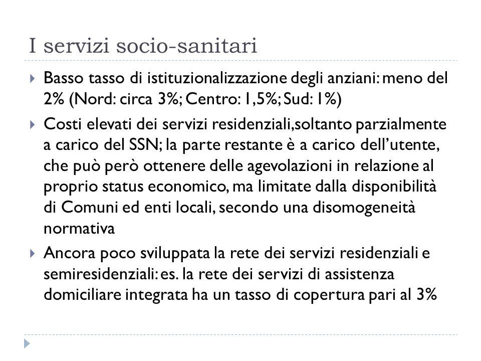 I servizi socio-sanitari