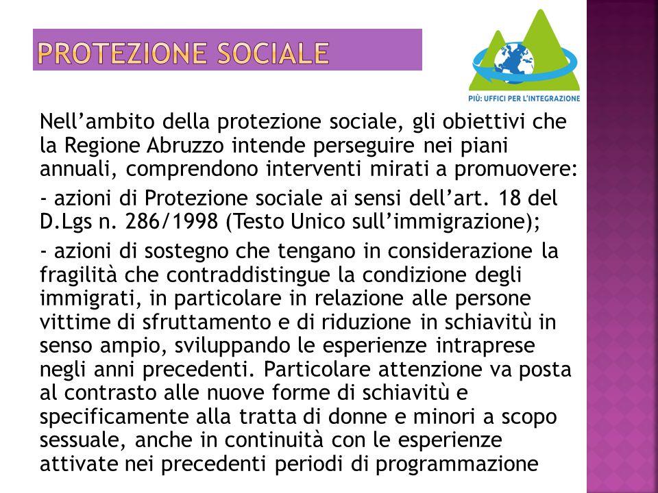 Protezione sociale