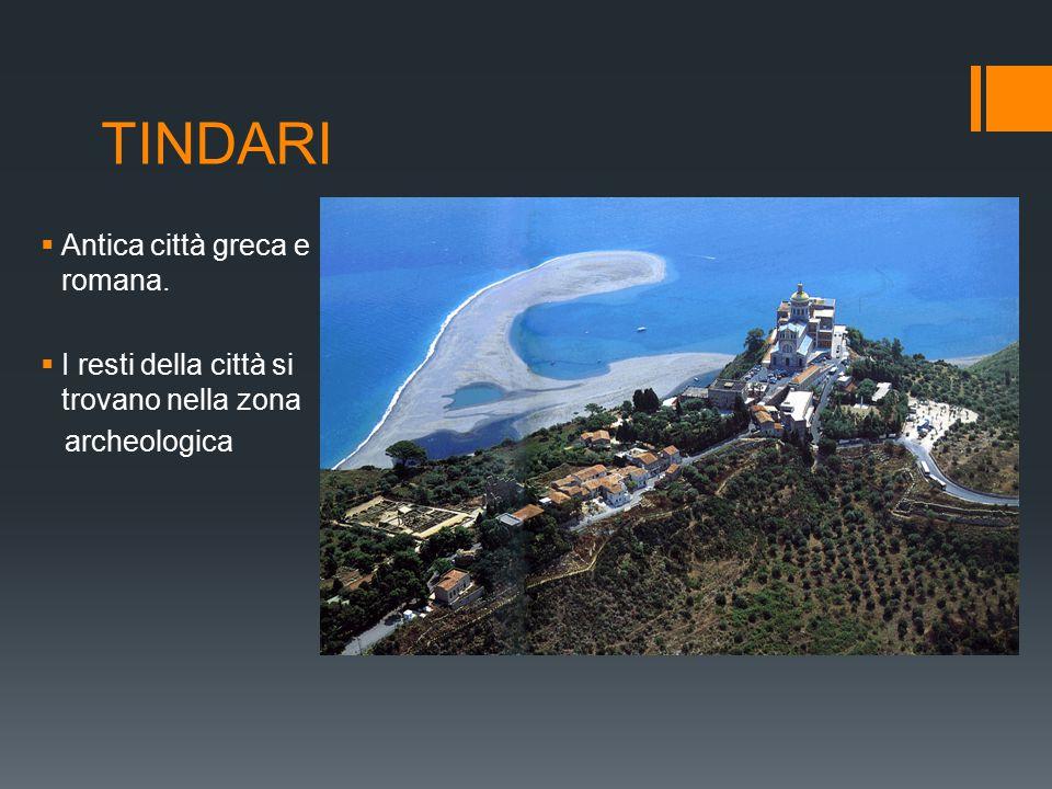 TINDARI Antica città greca e romana.