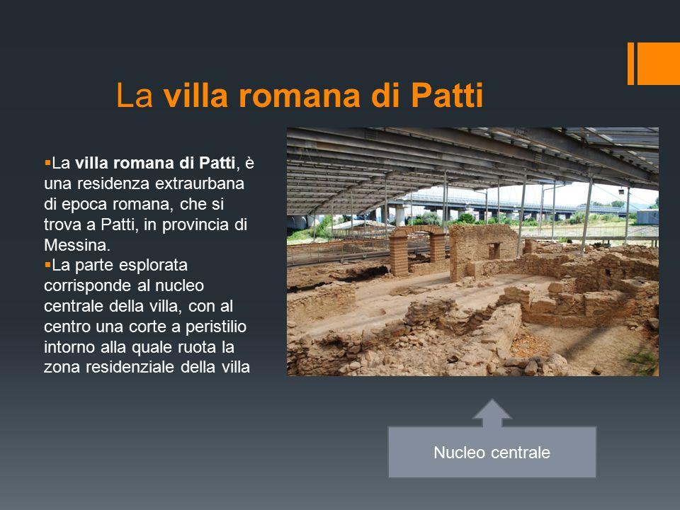 La villa romana di Patti