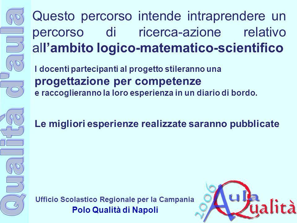 Questo percorso intende intraprendere un percorso di ricerca-azione relativo all'ambito logico-matematico-scientifico