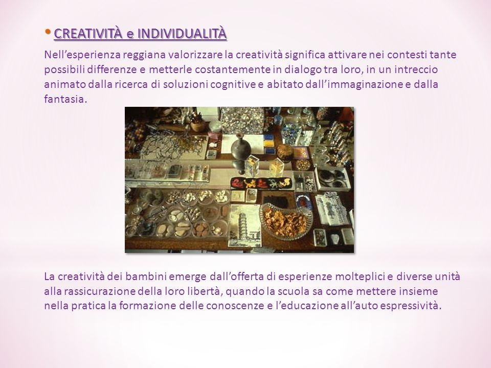 CREATIVITÀ e INDIVIDUALITÀ