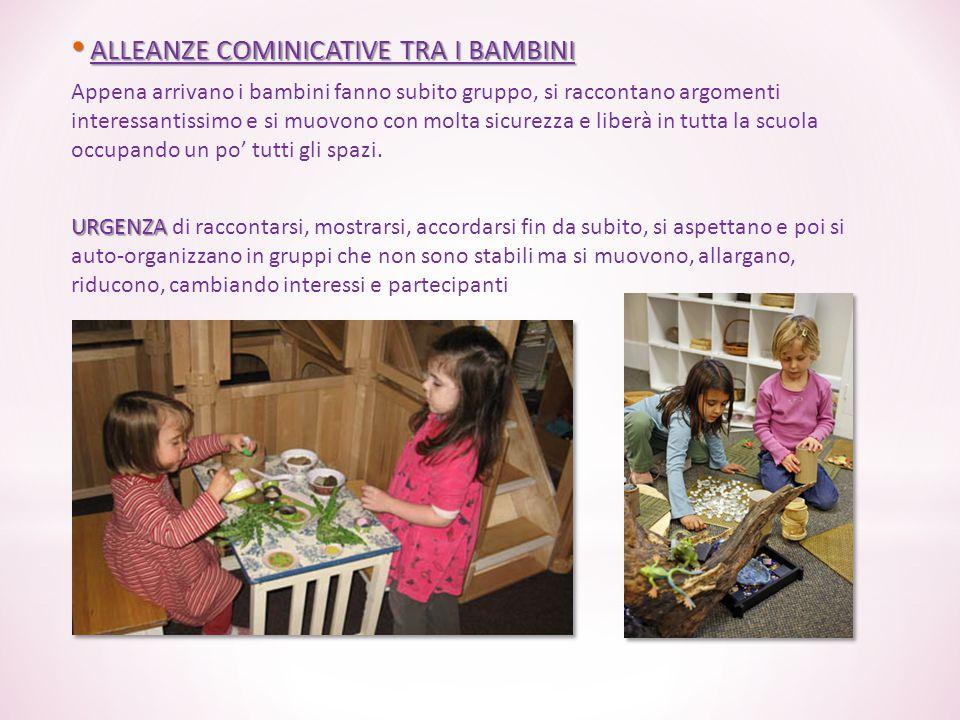 ALLEANZE COMINICATIVE TRA I BAMBINI