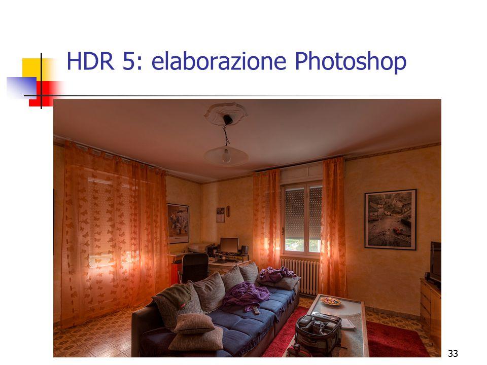 HDR 5: elaborazione Photoshop
