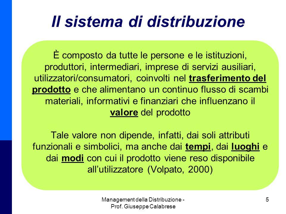 Il sistema di distribuzione