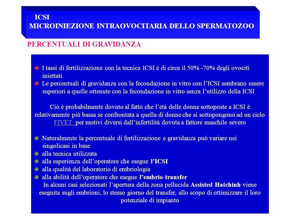 MICROINIEZIONE INTRAOVOCITARIA DELLO SPERMATOZOO