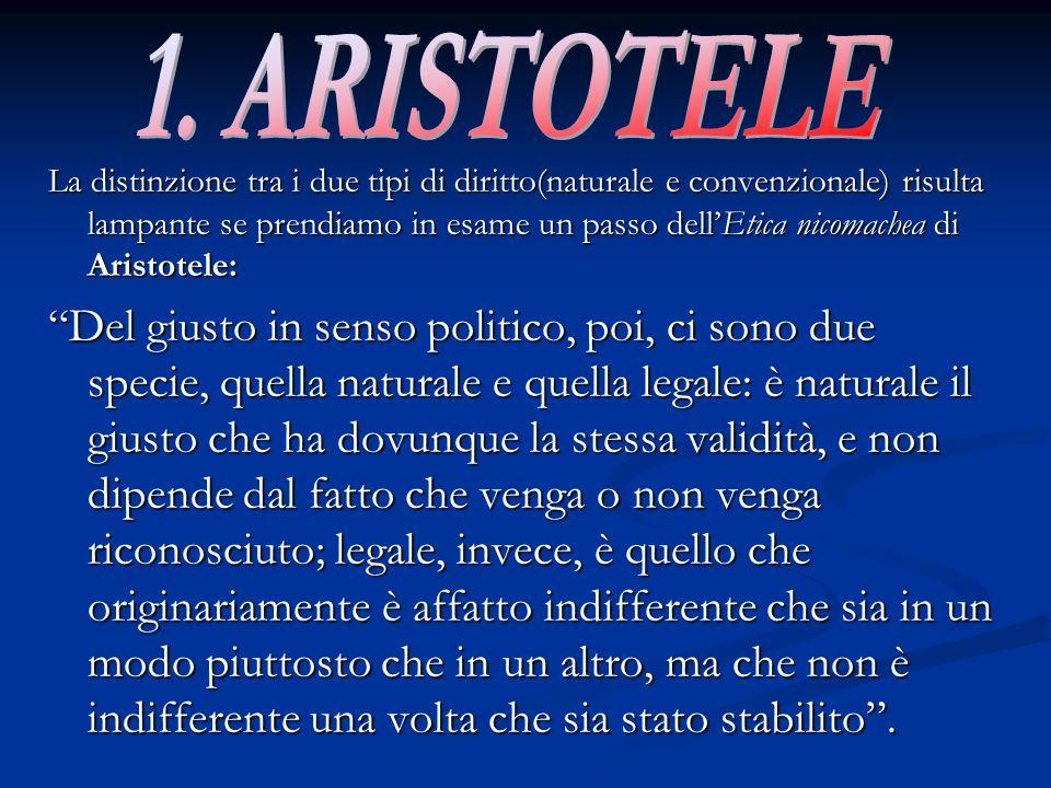 1. ARISTOTELE