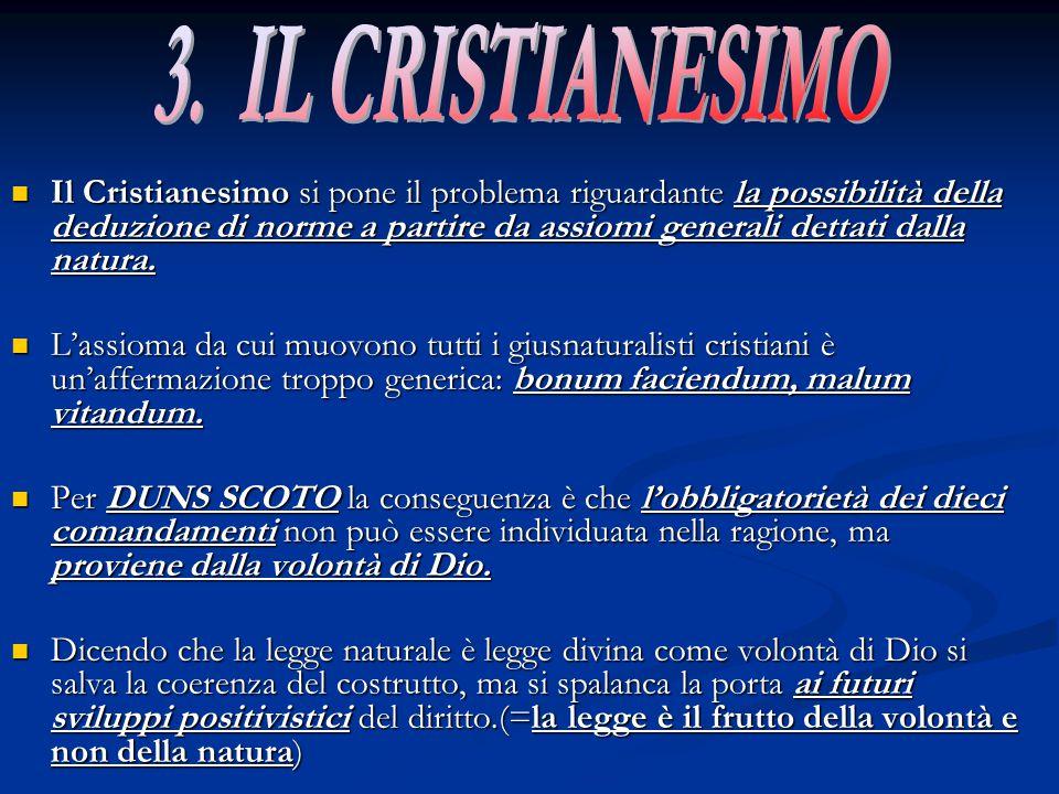3. IL CRISTIANESIMO