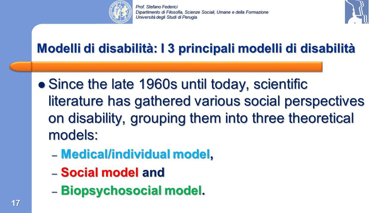 Modelli di disabilità: I 3 principali modelli di disabilità