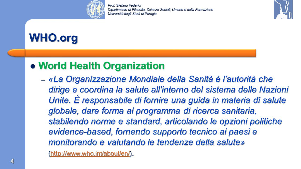 WHO.org World Health Organization