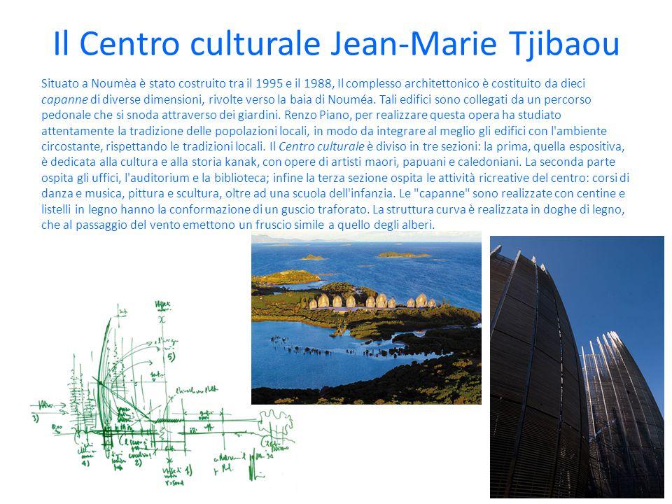 Il Centro culturale Jean-Marie Tjibaou