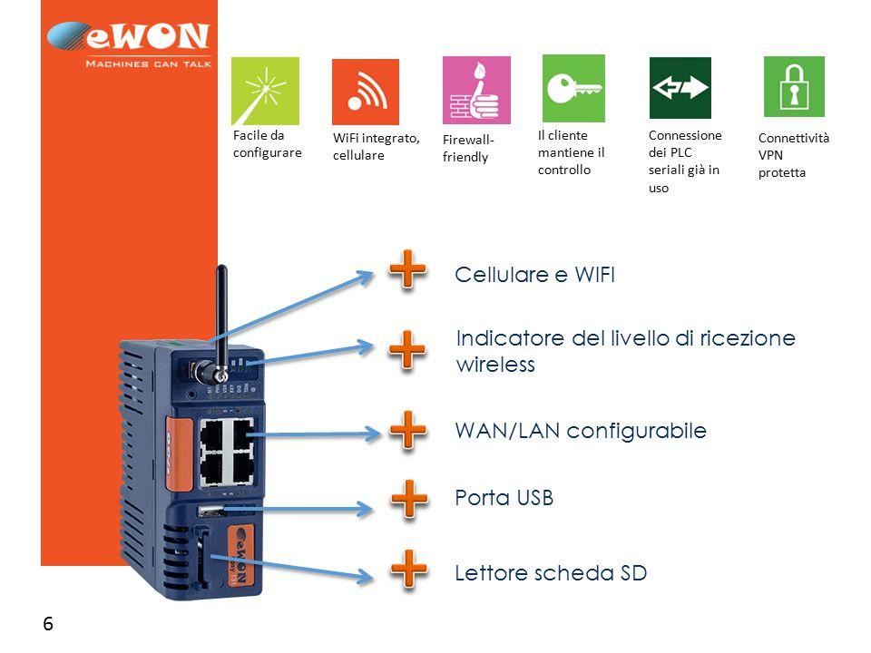 Indicatore del livello di ricezione wireless