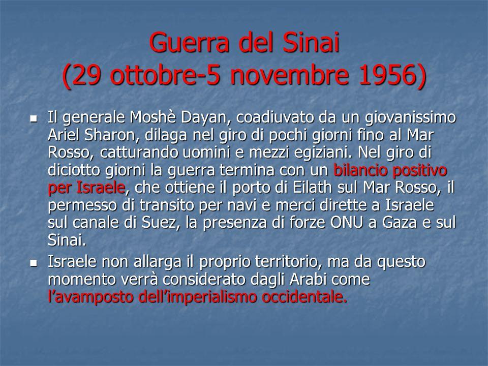 Guerra del Sinai (29 ottobre-5 novembre 1956)