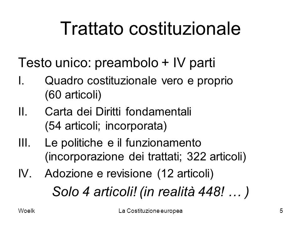 Trattato costituzionale