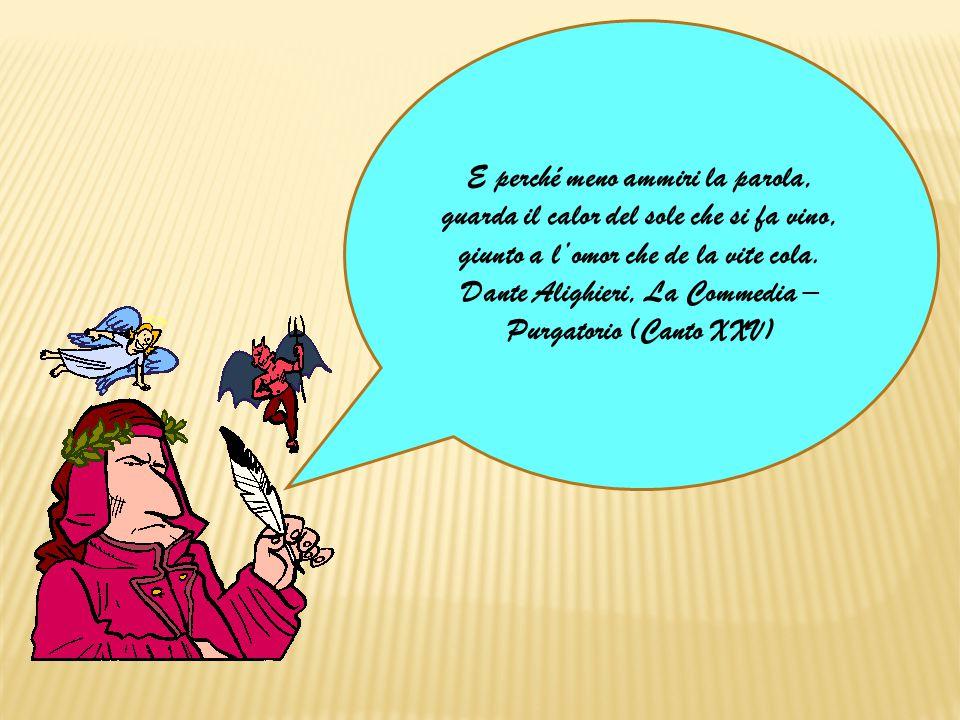Dante Alighieri, La Commedia – Purgatorio (Canto XXV)
