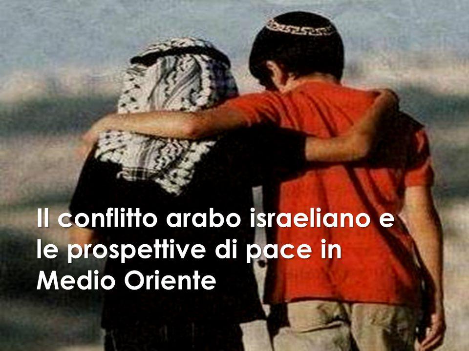 Il conflitto arabo israeliano e le prospettive di pace in Medio Oriente