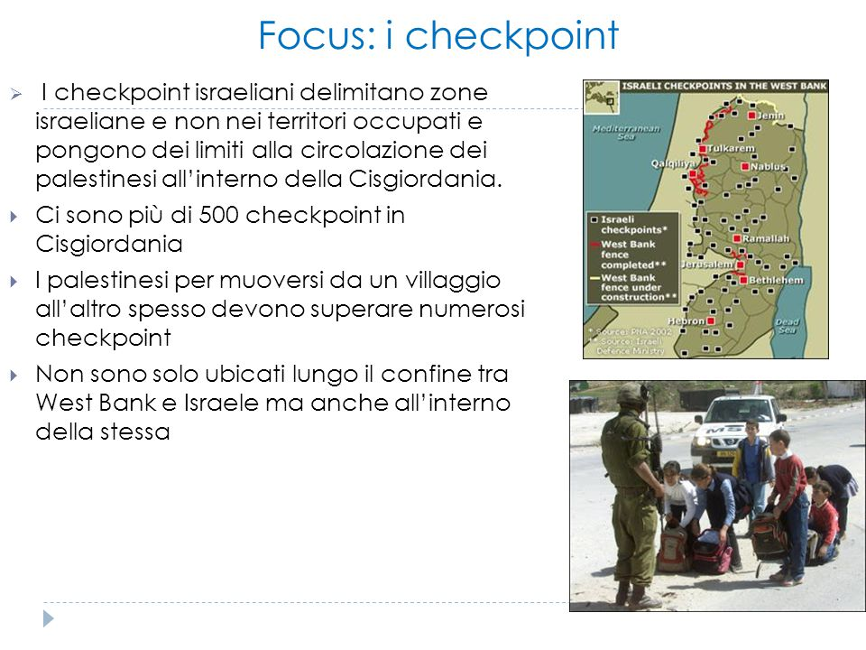 Focus: i checkpoint