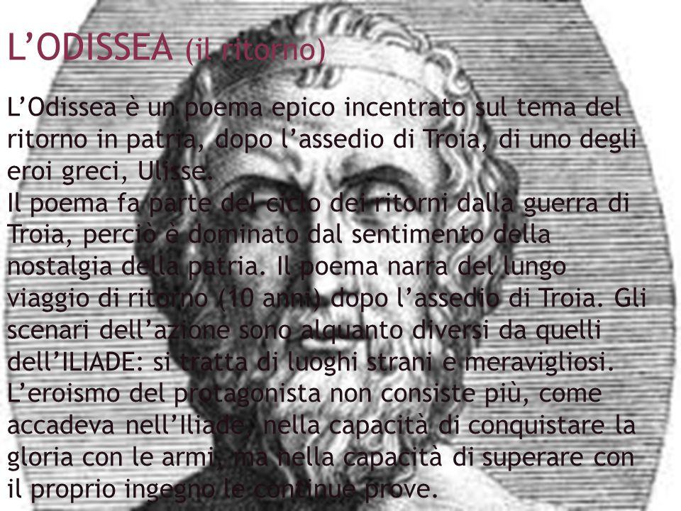 L'ODISSEA (il ritorno)