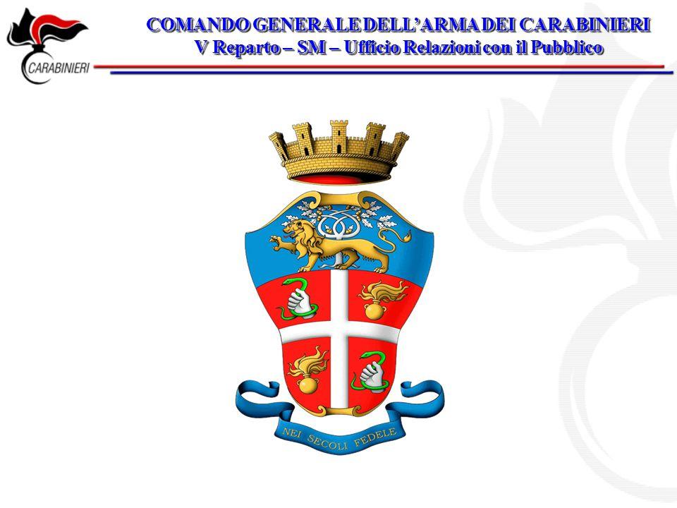 COMANDO GENERALE DELL'ARMA DEI CARABINIERI
