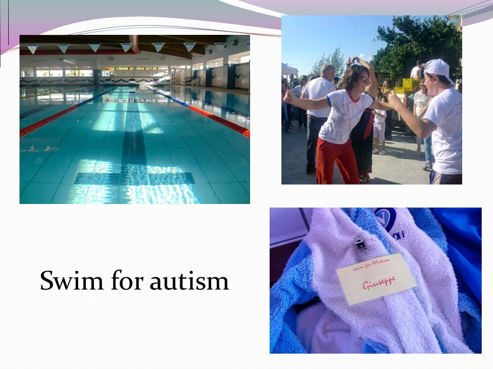 Swim for autism