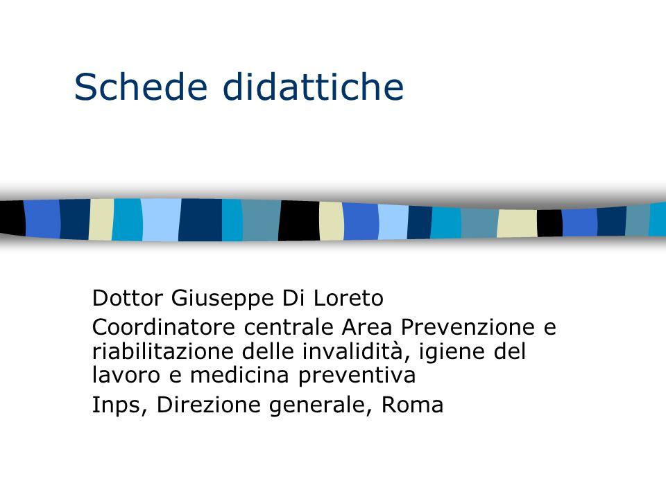 Schede didattiche Dottor Giuseppe Di Loreto