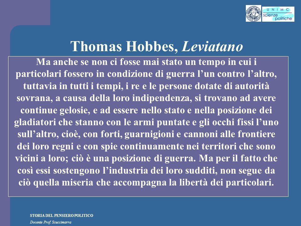 Thomas Hobbes, Leviatano