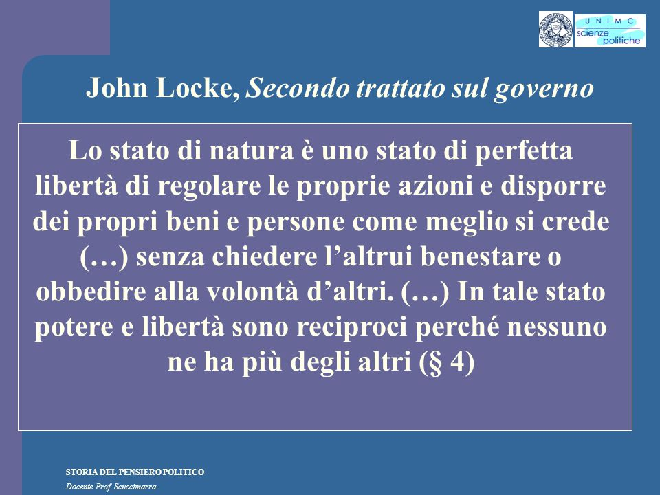 John Locke, Secondo trattato sul governo