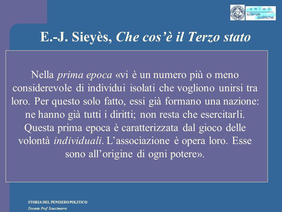 E.-J. Sieyès, Che cos'è il Terzo stato