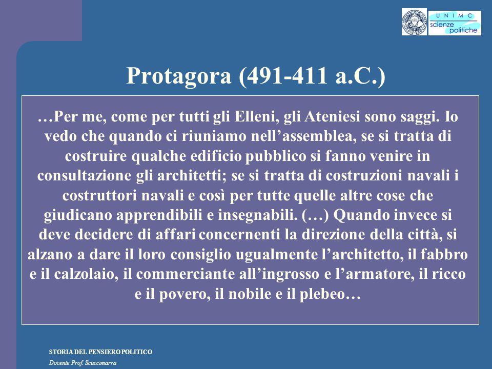 Protagora (491-411 a.C.)