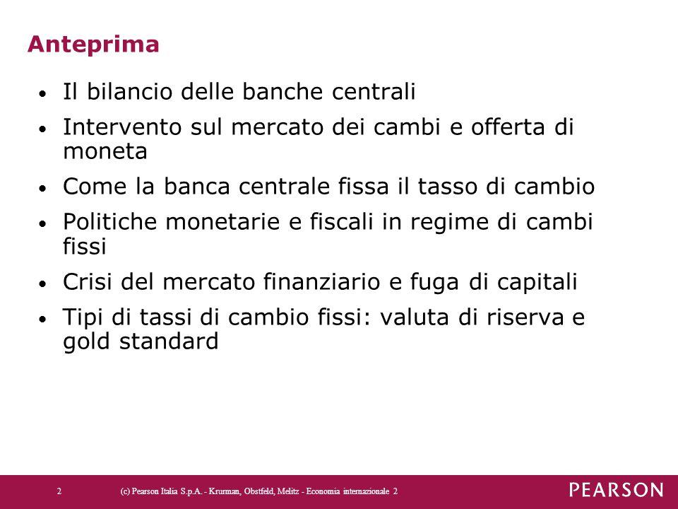 Il bilancio delle banche centrali