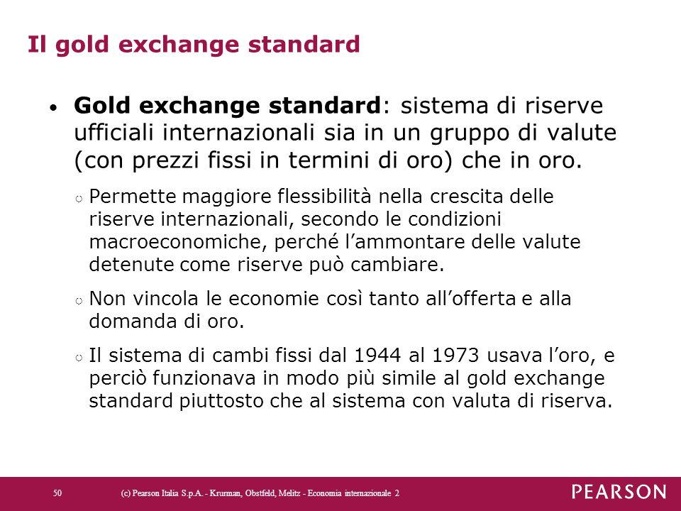 Il gold exchange standard