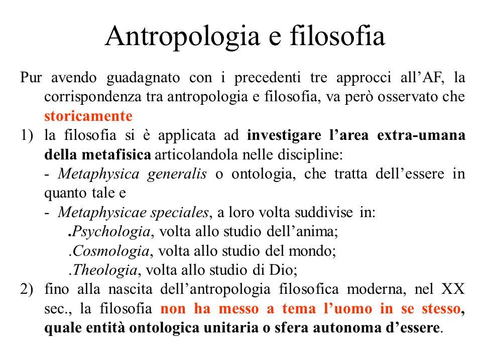 Antropologia e filosofia