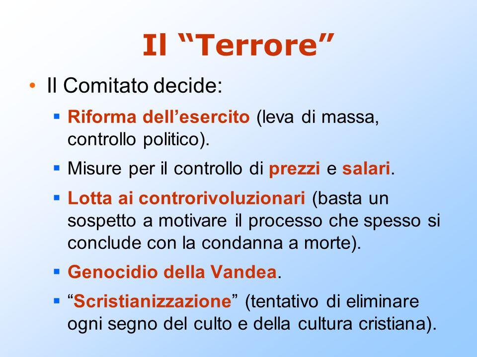 Il Terrore Il Comitato decide: