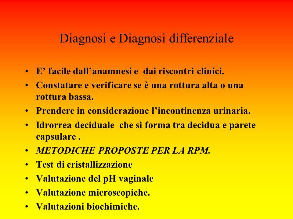 Diagnosi e Diagnosi differenziale