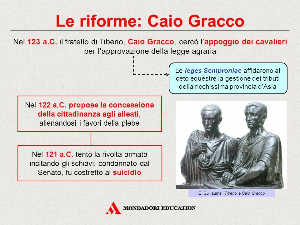 Le riforme: Caio Gracco
