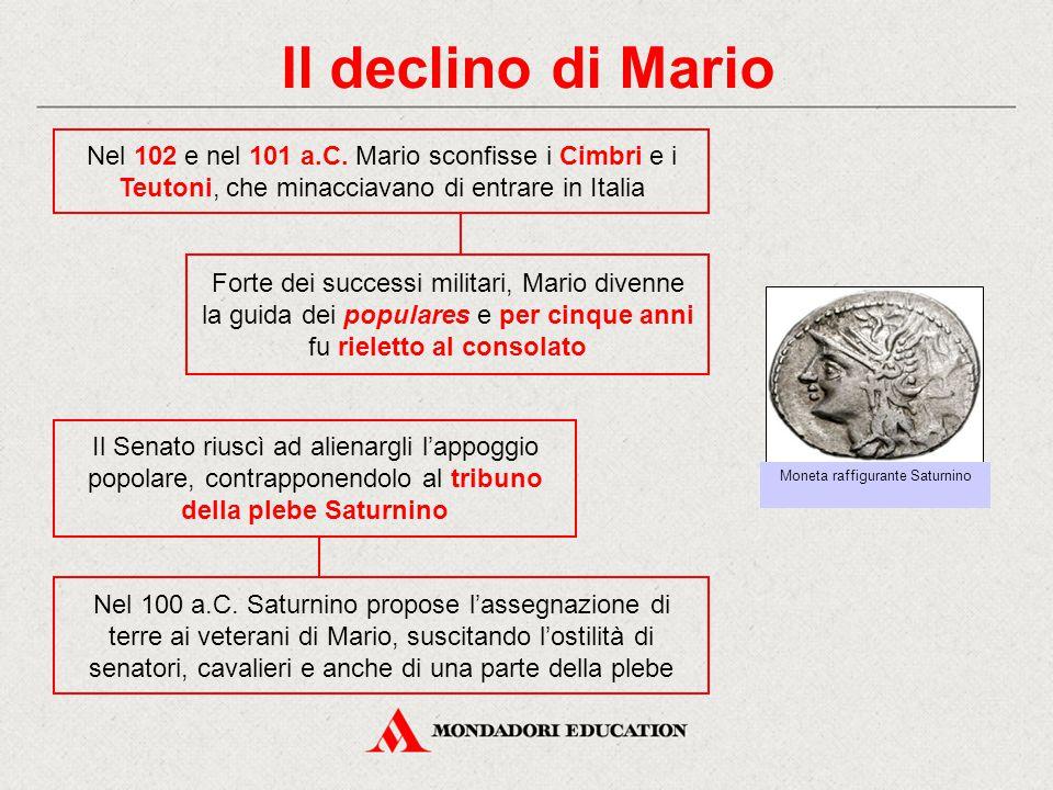 Moneta raffigurante Saturnino