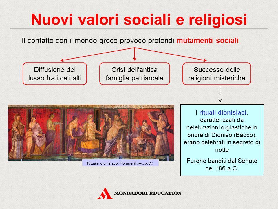Nuovi valori sociali e religiosi