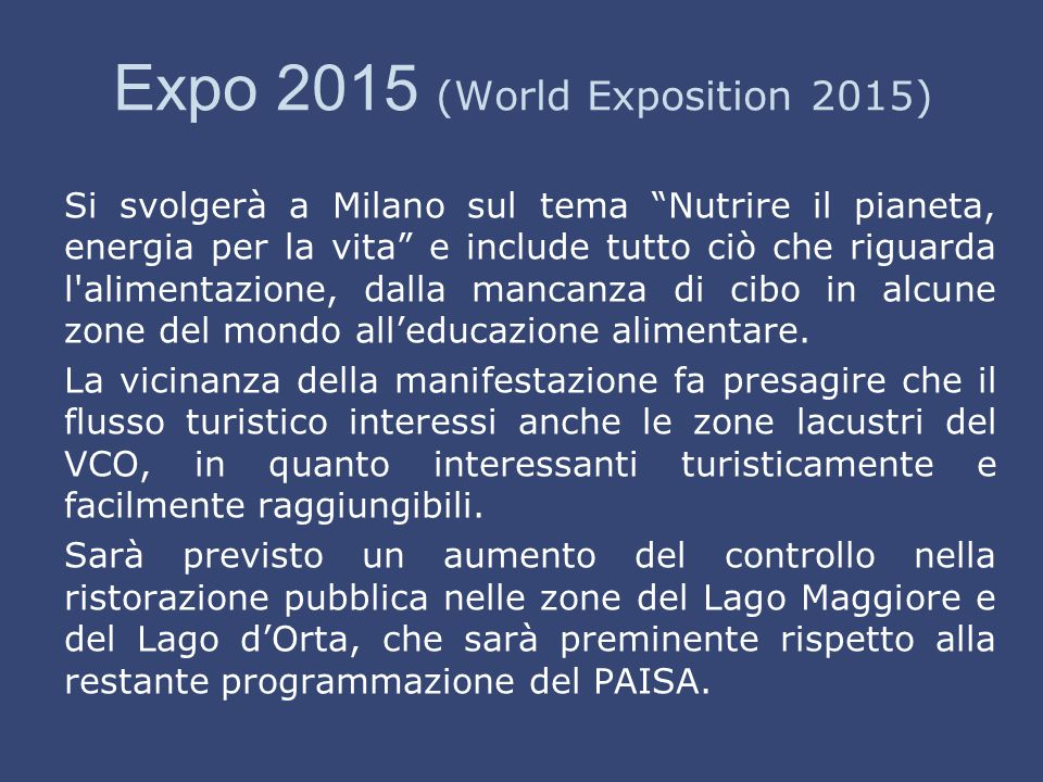 Expo 2015 (World Exposition 2015)
