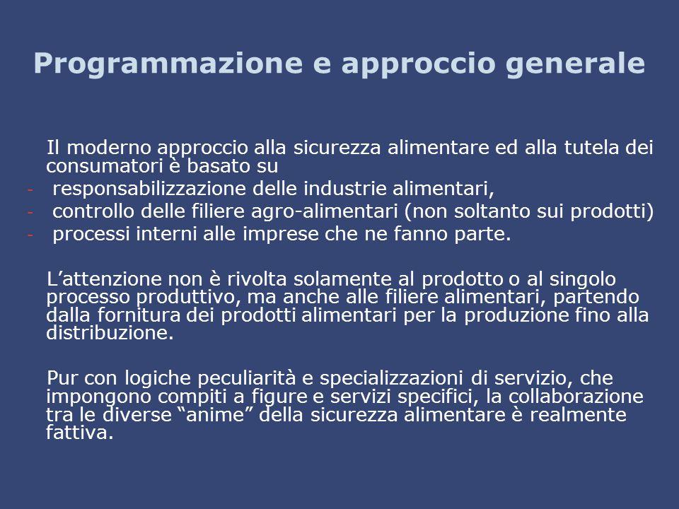 Programmazione e approccio generale