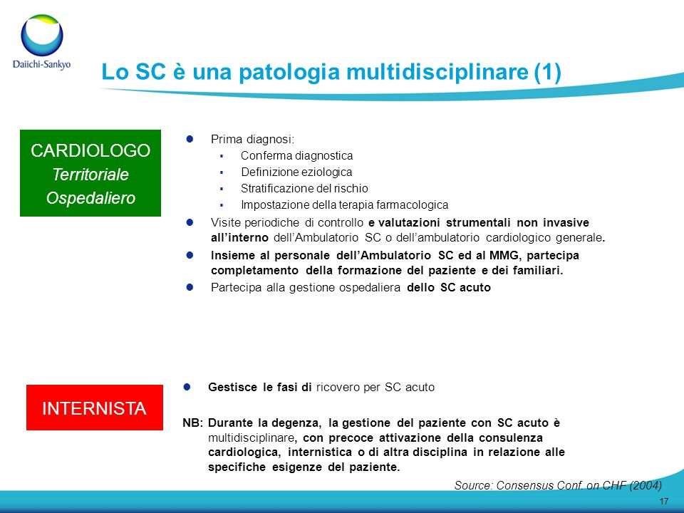 Lo SC è una patologia multidisciplinare (1)