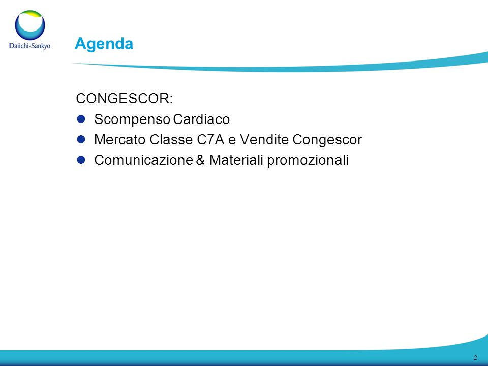 Agenda CONGESCOR: Scompenso Cardiaco