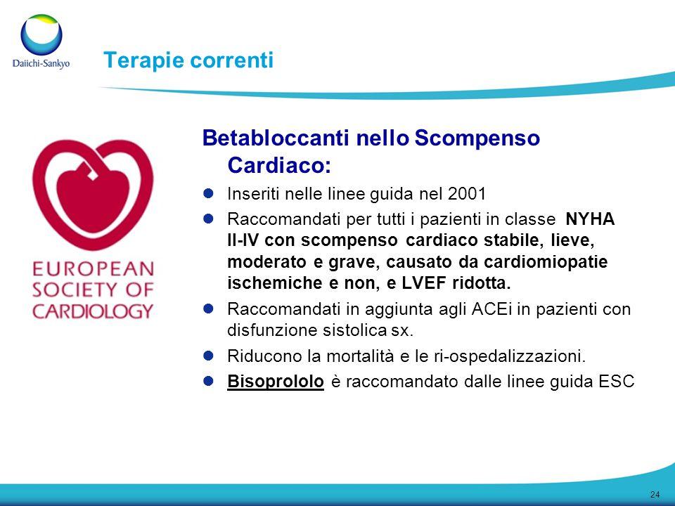 Betabloccanti nello Scompenso Cardiaco: