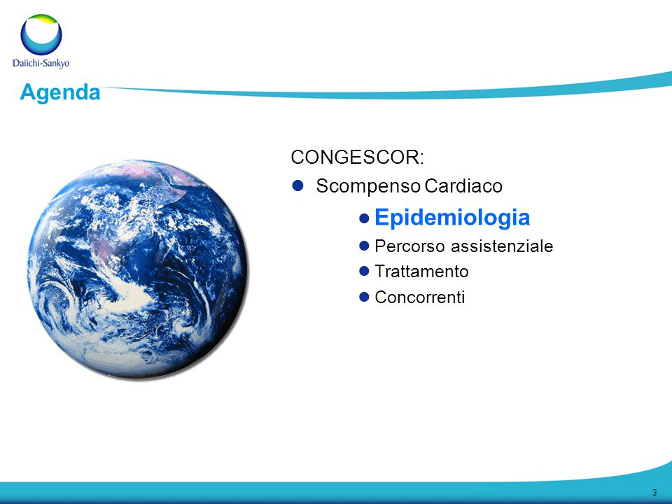 Epidemiologia Agenda CONGESCOR: Scompenso Cardiaco