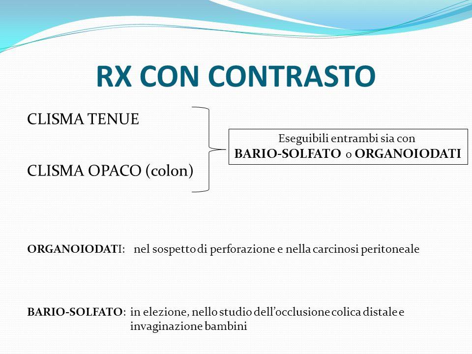 RX CON CONTRASTO CLISMA TENUE CLISMA OPACO (colon)