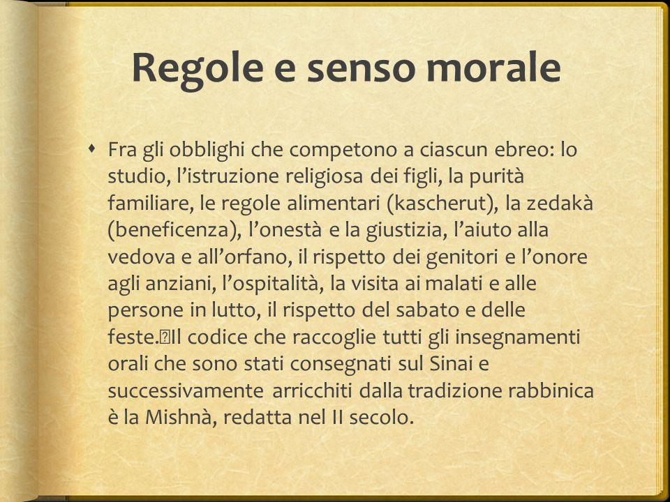 Regole e senso morale
