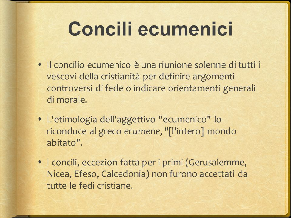 Concili ecumenici