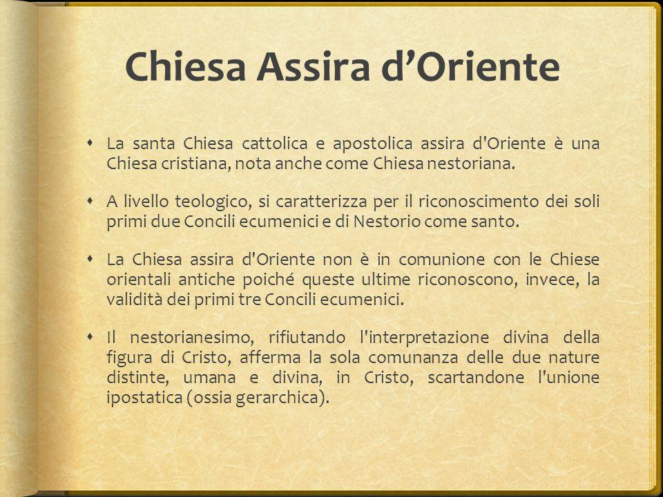 Chiesa Assira d'Oriente